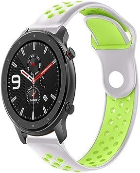 SHSH Correa de repuesto para reloj deportivo de AMAZFIT GTR de 47 ...