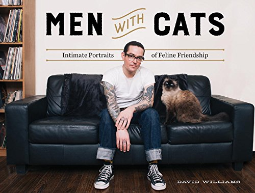Men Cats Intimate Portraits Friendship