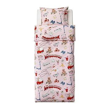 Ikea Kinder Bettwäsche Garnitur Spielzeug Lekrum 140 X 200 Amazon