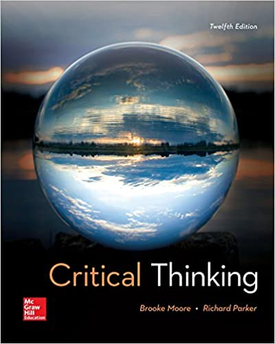 Amazon critical thinking 9781259690877 brooke noel moore critical thinking 12th edition fandeluxe Images