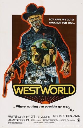 amazon com westworld movie poster 24x36 prints posters prints
