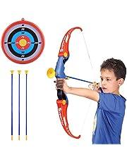 Polai Arco y Flechas para Niños Tiro con Arco Juguete