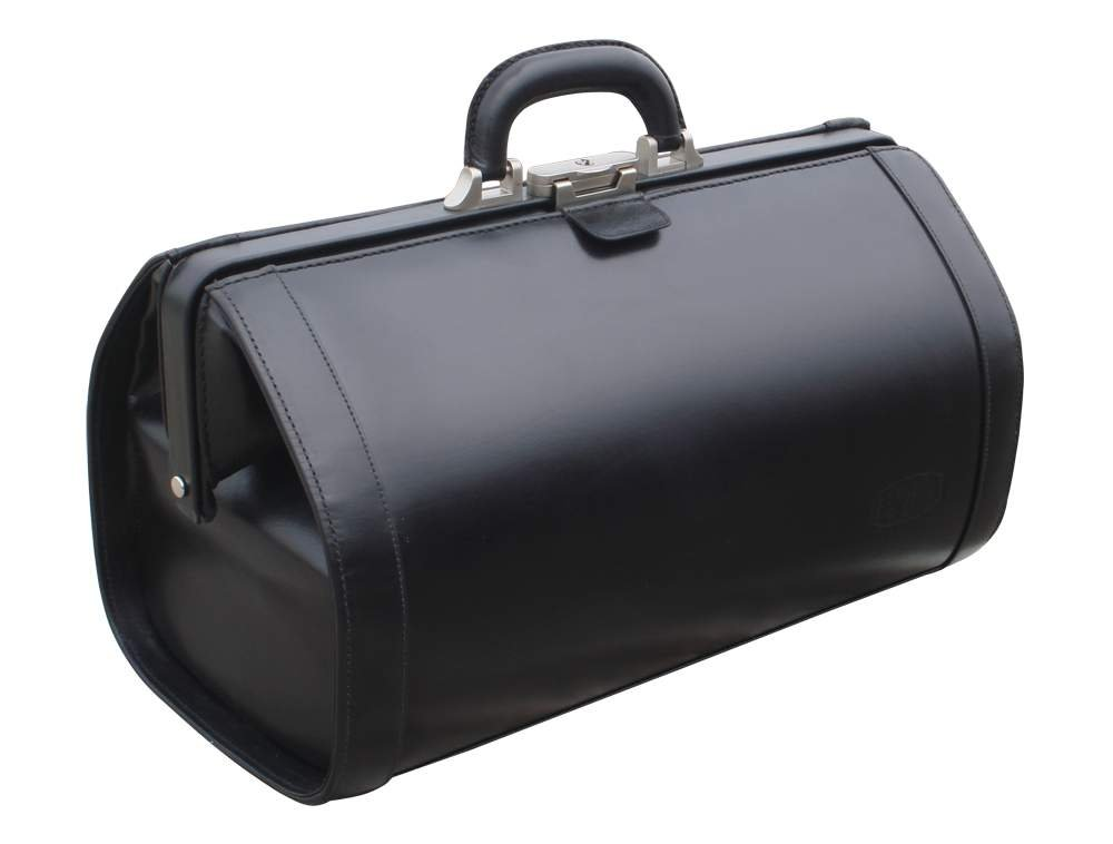 RA Böck Fine Leather Doctor Bag - Extra Large