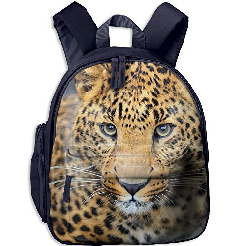 Leopard Muzzle Eyes Cute Backpack School Book Backpack Shoulder Bag Schoolbag For Girls Boys