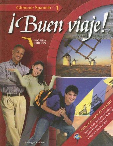 Buen Viaje!: Florida Edition (Glencoe Spanish: Level 1) (Spanish and English Edition)