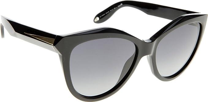 Givenchy Damen Sonnenbrille GV 7009/S HD Qol, Schwarz (Black/Grey), 55