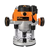 Triton Tools MOF001 2 HP Dual Mode Precision Plunge Router