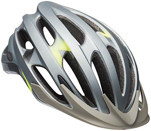 Bell Drifter Bike Helmet - Matte/Gloss Silver Deco Medium
