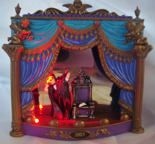 Carlton Cards The Phantom of the Opera Scene Ornament Retired - Christmas Ornament Collectible CXOR-111J