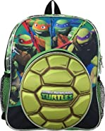 "Nickelodeon Teenage Mutant Ninja Turtle Toddler 12"" Backpack"