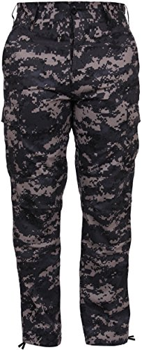 Tactical BDU Pants Camo Cargo Uniform Trousers Camouflage Military Fatigues