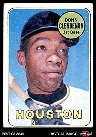 Amazoncom 1969 Topps 208 Hou Donn Clendenon Houston Astros