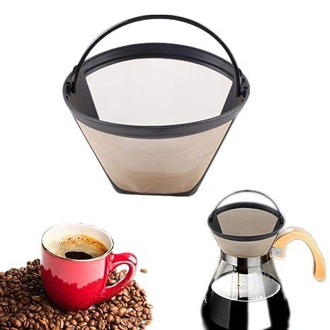 FIREPANDA Filtros de café Reutilizables Goteador Acero ...