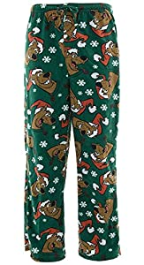 Scooby Doo Mens Christmas Holiday Fleece Lounge Pants