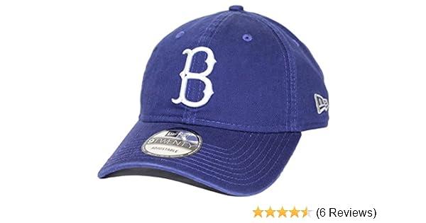 best service b8855 650e2 ... discount code for amazon brooklyn dodgers new era 9twenty mlb core  classic adjustable hat blue sports ...