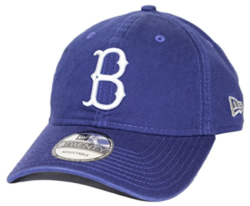 New Era Unisex Brooklyn Dodgers Core Classic 9TWENTY Adjustable Hat, Royal, OS