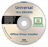 Software : Universal Offline Driver Install Automatic Complete Device DVD for Windows 10, 7, XP, 8, Vista Supports Sony Acer Asus Lenovo Compaq IBM eMachines HP Dell Toshiba Gateway Safety Restore Point
