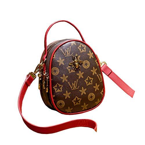 Clutch Da Donna Womens Tote Bags Clutch Bags Piccola Ape Leisure Elegante Movimento Moda Spinotto Per Cuffie Tasca Multifunzionale Borsa A Tracolla Red