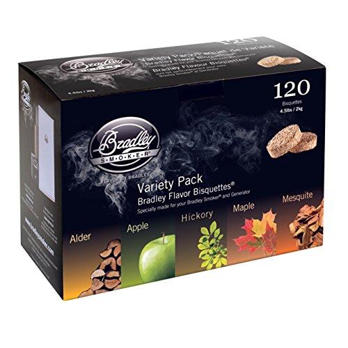 Bradley Smoker 5 Flavor Variety Bisquettes