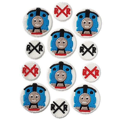 Wilton BB7104242 Thomas the Train Edible Icing Decorations (Thomas Halloween Costume Canada)