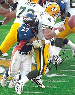 Steve Atwater, Denver Broncos, Signed, Autographed, Football 8X10 Photo, a COA Will Be Included