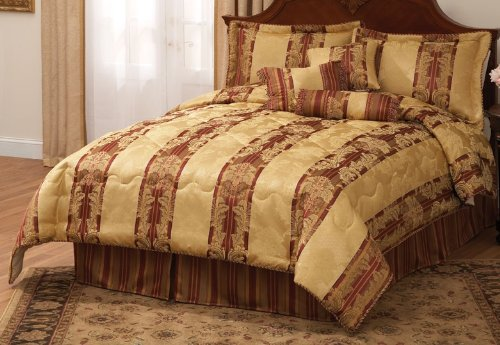 Dakota Court Queen Comforter Set