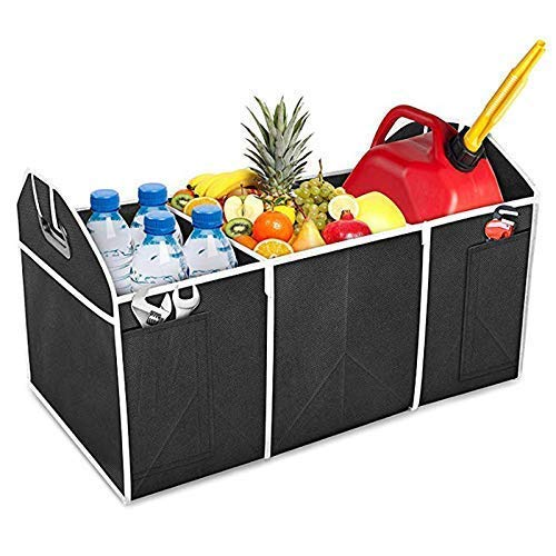1xCar Boot Tidy Bag Storage Box Trunk Organiser Holder Foldable Collapsible