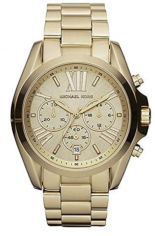 Michael Kors Watches Bradshaw Watch (Gold) (Michael Kors Bradshaw Watch 43mm)