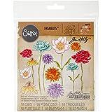 Sizzix 661613 Framelits Die Set, Flower Garden & Mini Bouquet (18 Dies)