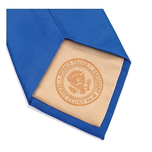 Donald J. Trump Signature Corbata de cuello azul con sello ...
