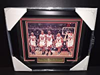 Michael Jordan Windy City Dynasty Champions Chicago Bulls Framed 8x10 Photo