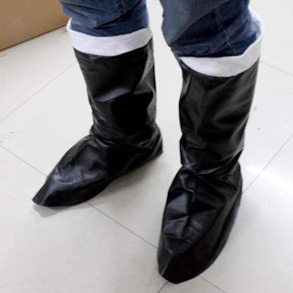 Trenton Christmas Santa Claus Boots Cosplay Costume Faux Leather Shoes Cover