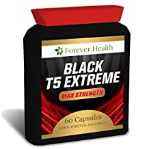 T5 Black EXTREME * Strongest LEGAL FAT BURNER * FREE UK DELIVERY + FREE Diet Plan ! Specially Formulated for Super Fast Weight Loss and Boost Metabolism - Lose Up 6 KILOS In 8 Weeks ! 60 Tablet - Lose Weight And Slim Fast With These SUPER STRONG Diet Pill ! Contains GREEN TEA EXTRACT , BLACK SOY BEAN and Other Natural Herbal Ingredients To Raise Metabolism and Lose Weight FAST !