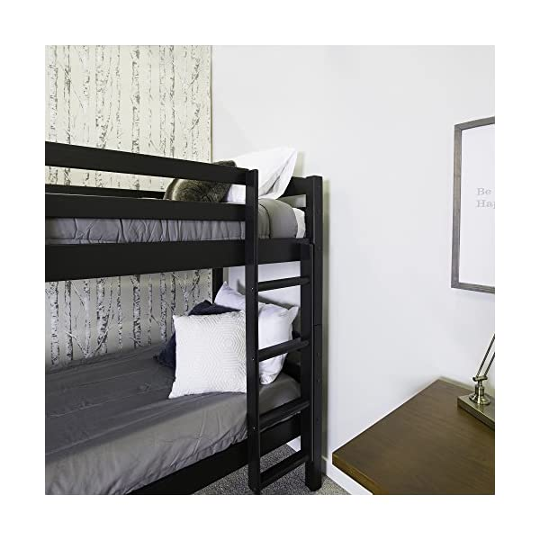 Walker Edison Solid Wood Twin Bunk Bed 3