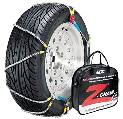 Set of 2 Security Chain Company Z-547 Z-Chain Extreme Performance Cable Tire Traction Chain