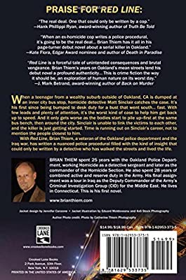 Red Line: A Matt Sinclair Mystery: Amazon co uk: Brian Thiem