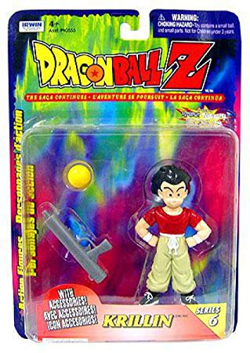 Irwin Toy Dragonball Z Series 6 - Krillin with Accessories!