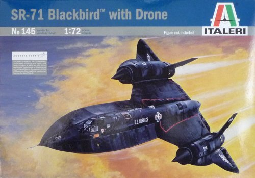 Italeri 145 1/72 SR-71 Blackbird (Sr71 Model)