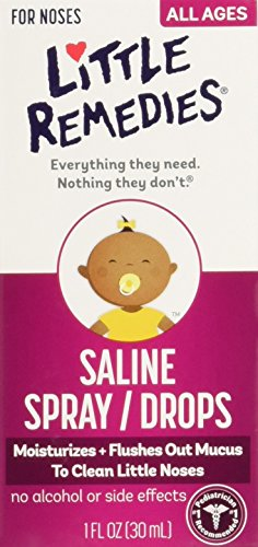 Little Remedies Little Noses Saline Spray/Drops - 1 oz - 6 c