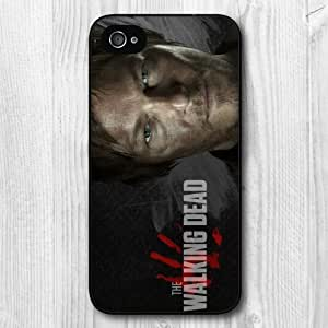 New Fashion Design Walking Dead Pattern Protective Hard Phone Cover Skin For CaseiPhone 4 4s +Screen Protector