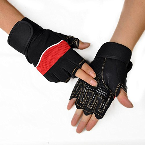 Sport Gloves For Gym: Yoyorule Outdoor Sport Gym Workout Weight Lifting Training