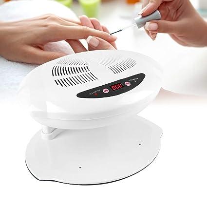 400W Secador de Uñas de Aire Frío y Caliente Profesional con Sensor para Curado de Uñas