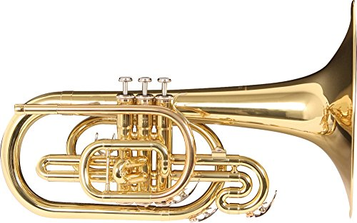 Yamaha YMP204M Marching Mellophone, Lacquer Finish