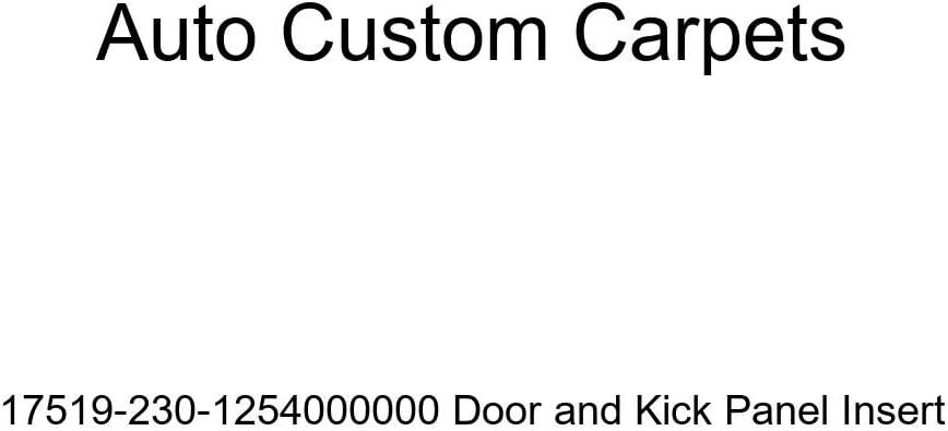 Auto Custom Carpets 17519-230-1254000000 Door and Kick Panel Insert