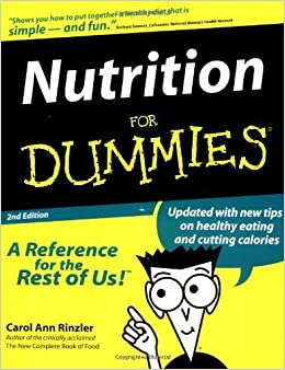 Nutrition For Dummies (For Dummies (Computer/Tech)) by Carol Ann Rinzler (1999-07-26)