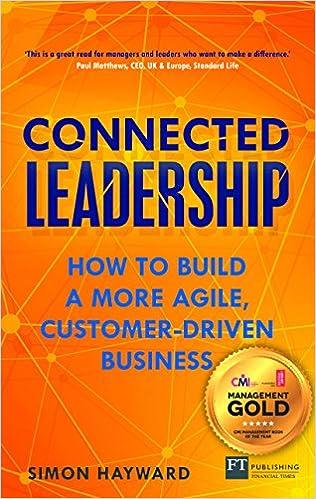 foto de Amazon.com: Connected Leadership: How to build a more agile ...