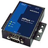 MOXA NPort 5110 w/o Adapter - 1 Port Serial Device Server, 10/100 Ethernet, RS232, DB9 Male, W/O POWER ADAPTER