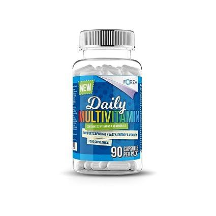 FORZA FITNESS Multivitamínico – Suplemento Con Vitaminas y Minerales Para los Hombres y las Mujeres -