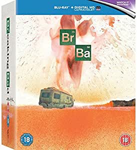Breaking Bad Ralph Steadman Limited Edition Steelbook Set 1-5 with Final (Complete Series Bundle)