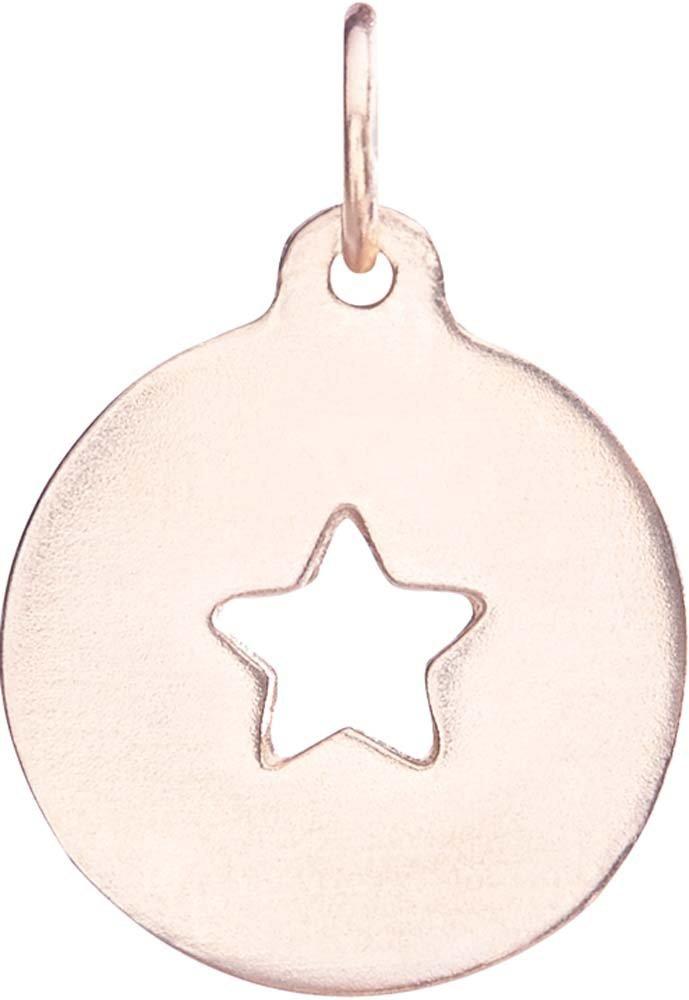 Helen Ficalora Star Cutout Charm Rose Gold